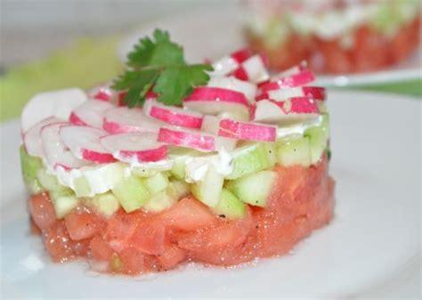cuisine entr馥 froide ma cuisine entree froide tartare de tomates
