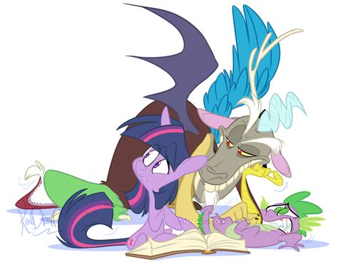 discord x spike 10132011 did you hear that by kendraw on deviantart