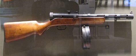 ppd smg submachine gun soviet union