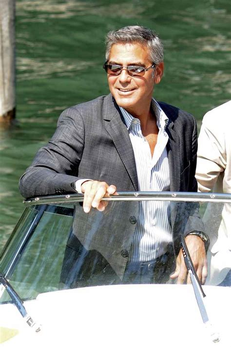 Even Out Of Focus George Clooney Is by George Clooney Non Scendo In Politica E Intanto