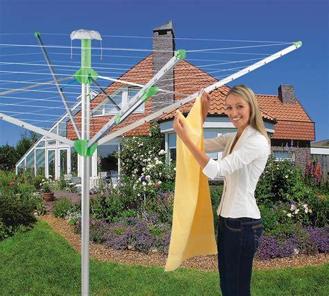 Backyard Clothesline Novaplus Rotary Outdoor Umbrella Clothesline