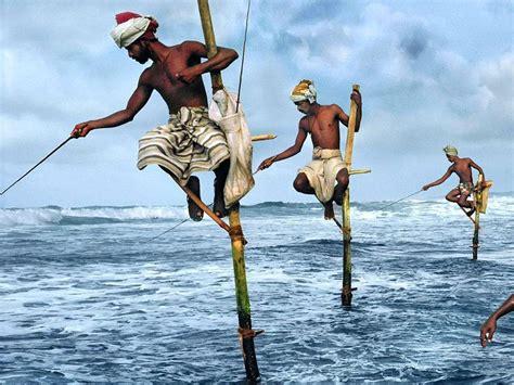 fisherman s fishermans bay weligama beach mirissa sri lanka