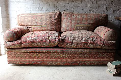quality kilim upholstered sofa  george smith antiques