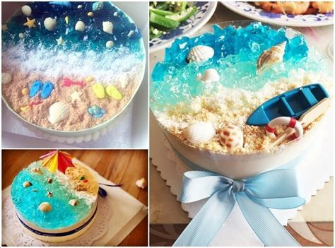 Home Plans With Pool by 8 Cool Summer Inspired Cake Ideas