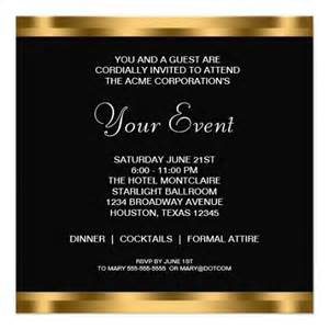Corporate Dinner Invitation Template by Best Photos Of Corporate Invitation Templates Business