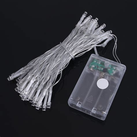 Battery Operated Led String Lights by Led String Light 5m 50leds Lights 3xaa Battery