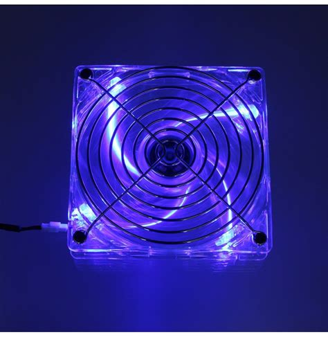 120mm usb cooling fan 120mm blue led light usb pc computer cooling fan