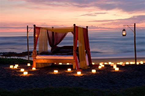 bed on the beach 19 best romantic dinners in bali