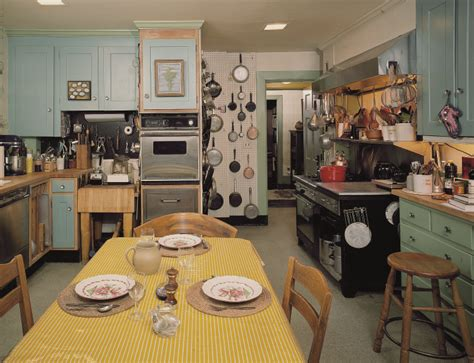 julia child kitchen in julia child s kitchen new england today