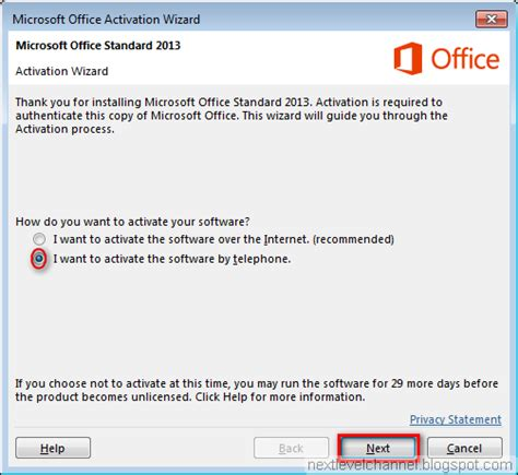 Office 2013 Activation by How To Install And Activate Microsoft Office