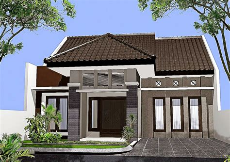 gambar desain rumah sederhana minimalis informasi desain  tipe rumah