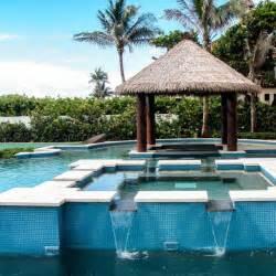 Tiki Hut Supplies Florida In Pool Tiki Bar Florida Tropical Pool Miami By