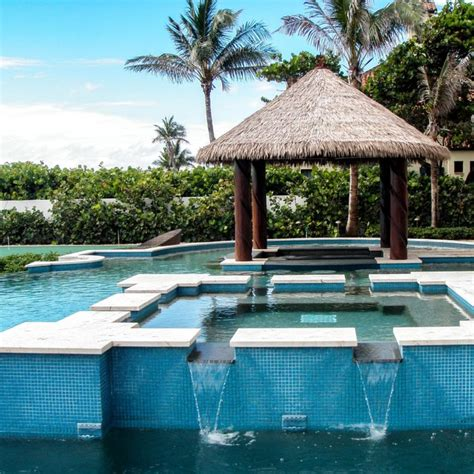 The Tiki Hut Company In Pool Tiki Bar Florida Tropical Pool Other By