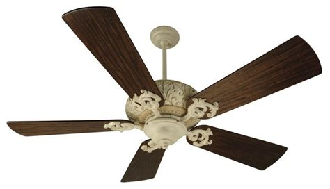 ophelia 54 in fan in antique white traditional