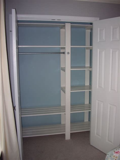 Diy Closet Design by Custom Reach In Closet Design Home Design Ideas