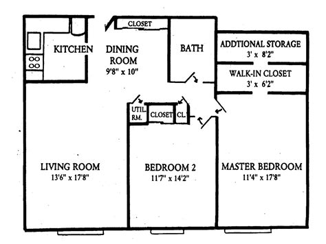 floor plan for two bedroom apartment floor plans olentangy terrace apartments