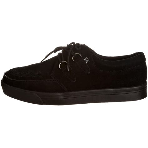 tuk a6061 black suede new mens womens unisex creepers