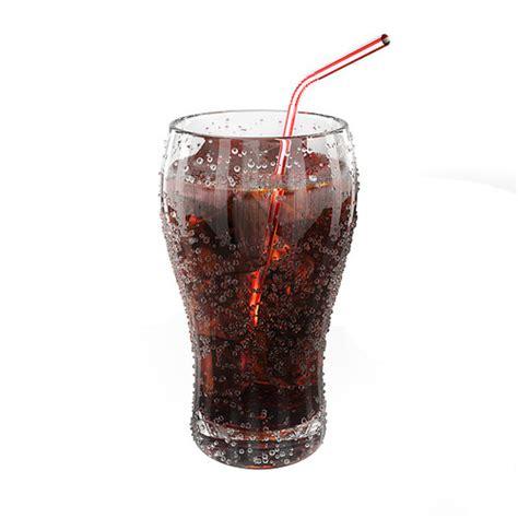 3d House Games fresh cola glass 3d model obj fbx blend cgtrader com