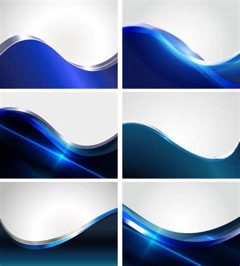 Bright Blue Wave backgrounds vector design   Vector