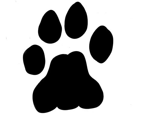 lion print image gallery lion paw
