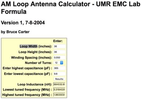 inductance calculator hamwaves inductance calculator loop antenna 28 images rf inductance calculator hamwaves wire wound