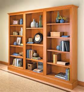 woodworking bookshelf plans