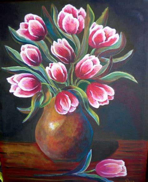 floreros y bodegones en la pintura española jarron de tulipanes roswitha wittich artelista