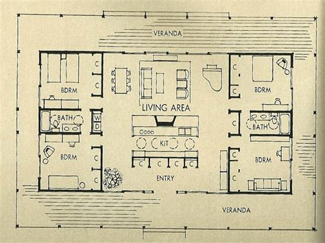 mid century modern floor plans plan house wooden bench diy mid century modern house architecture