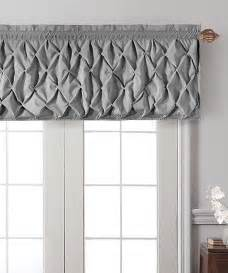 Window Coverings For Bow Windows gray valance cornices valances pinterest
