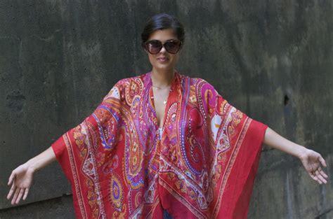 Ira Cape Maxy Abella 3 diy printed kimono a pair a spare