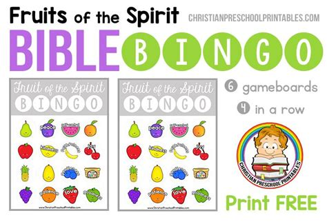 printable board games for sunday school 82 best fruit of the spirit images on pinterest fruit of