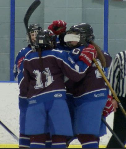section vi hockey flop advances to section vi chionship with 4 1 win over