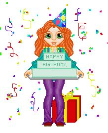 Free animated birthday clip art clipart panda free clipart images