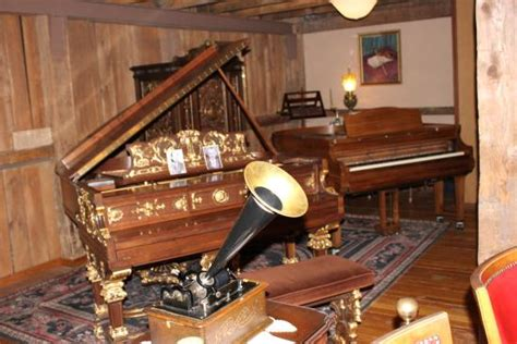 music house traverse city edison cylinder phonograph and weber reproducing piano picture of music house museum acme