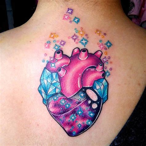 tattoo on the heart 110 best anatomical designs meanings 2019