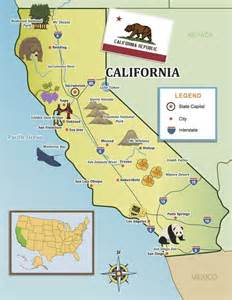 california map destinations passport top destinations and the golden on