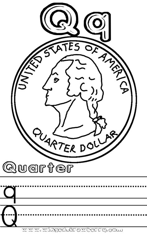 preschool q coloring pages free coloring pages of qq