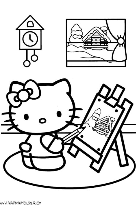 dibujos para pintar hello kitty pin pin piolin te amo con movimiento imagui pelautscom on