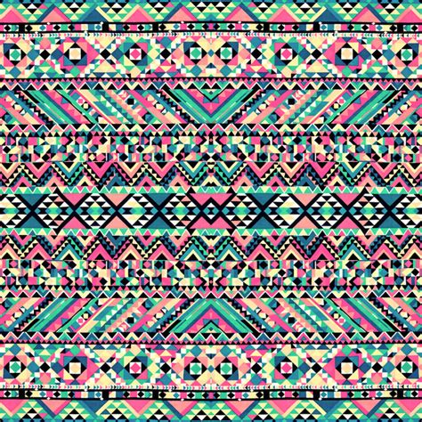 girly print wallpaper pink turquoise girly aztec andes tribal pattern art print