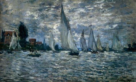 monet boats at argenteuil claude monet the boats regatta at argenteuil painting