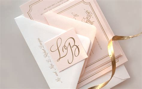 Einladung Hochzeit Rosa by Bradley S Pink And Gold Foil Wedding