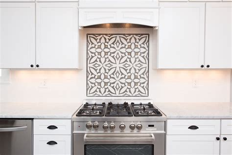 cement tile backsplash accent cementtileshop photo
