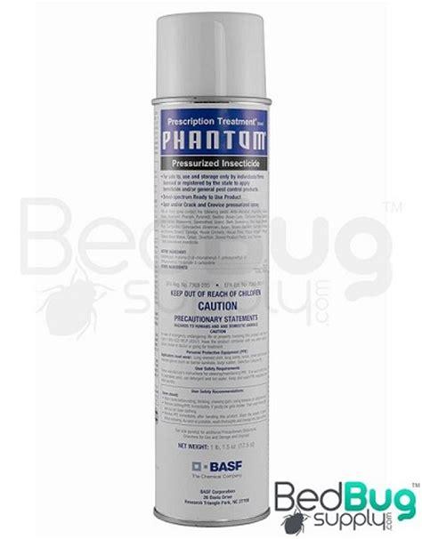 residual bed bug spray phantom aerosol insecticide