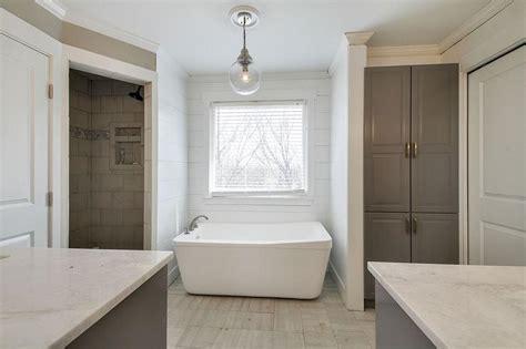 modern bathroom lighting for a more inviting bathroom decohoms shiplap shower surround design ideas