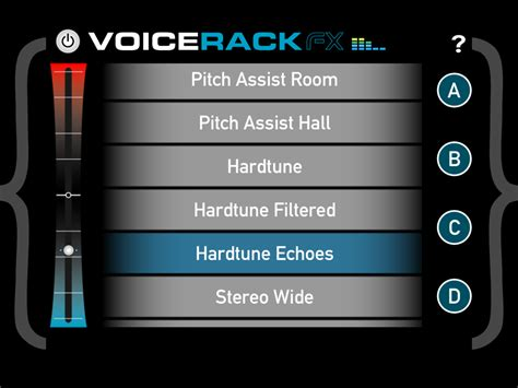 Apps Rack by Voice Rack Fx Real Time Vocal Effects App By Tc Helicon