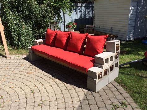 Diy Patio Furniture Diy Cinder Block Outdoor Furniture Cinder Block Patio Furniture