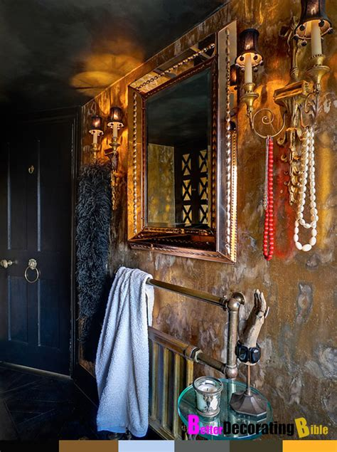Gypsy Style Home Decor | bohemian bathroom decor home interior design