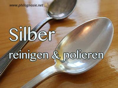 Silber Polieren Hausmittel by Silberreinigung Silber Silberschmuck Silberbesteck