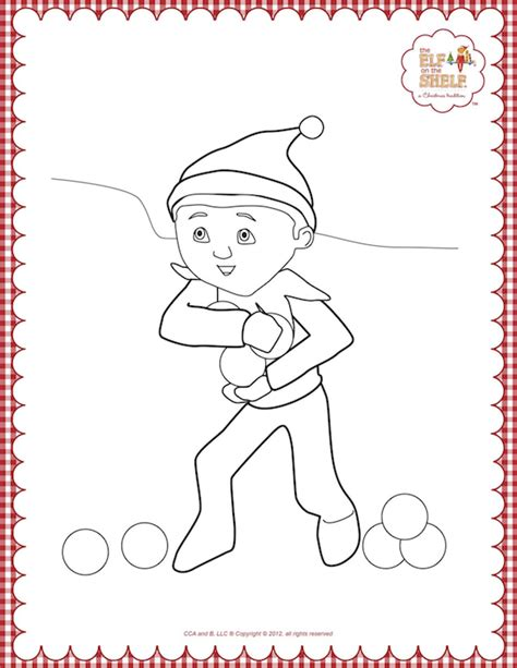 search results for elf on the shelf coloring pages to