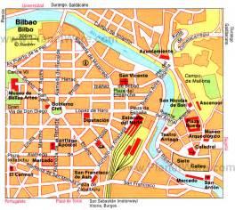Bilbao Spain Map by Bilbao Map